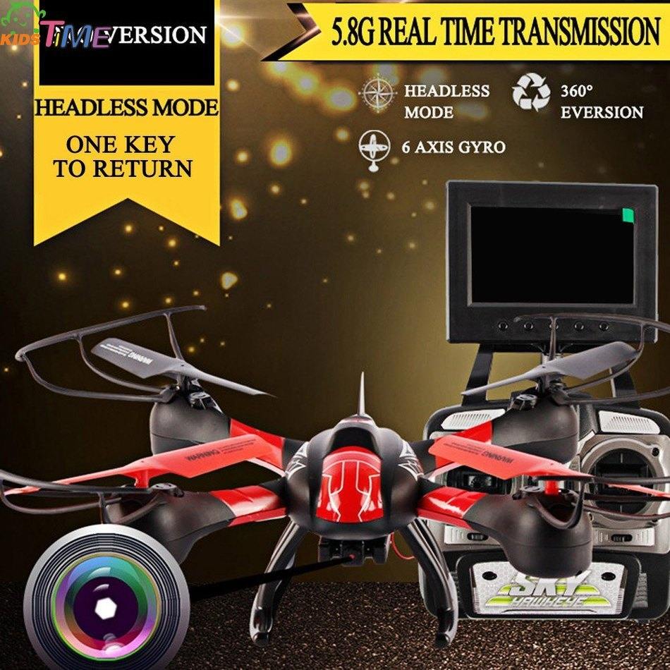 RC Toys Mini Gift SKY HAWKEYE 1315S Headless Mode 5.8G Real Time Transmission 4CH 2.4G RC Quadcopter with 0.3MP HD Camera sky hawkeye 1315w helicoptero headless mode wifi fpv real time transmission 4ch 2 4g rc quadcopter drone with camera helicopter
