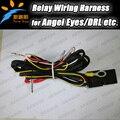 Fio Cablagem Fusível Interruptor do Relé para SMD angel eyes farol Cablagem Kit para BMW e36 e38 e39 e46