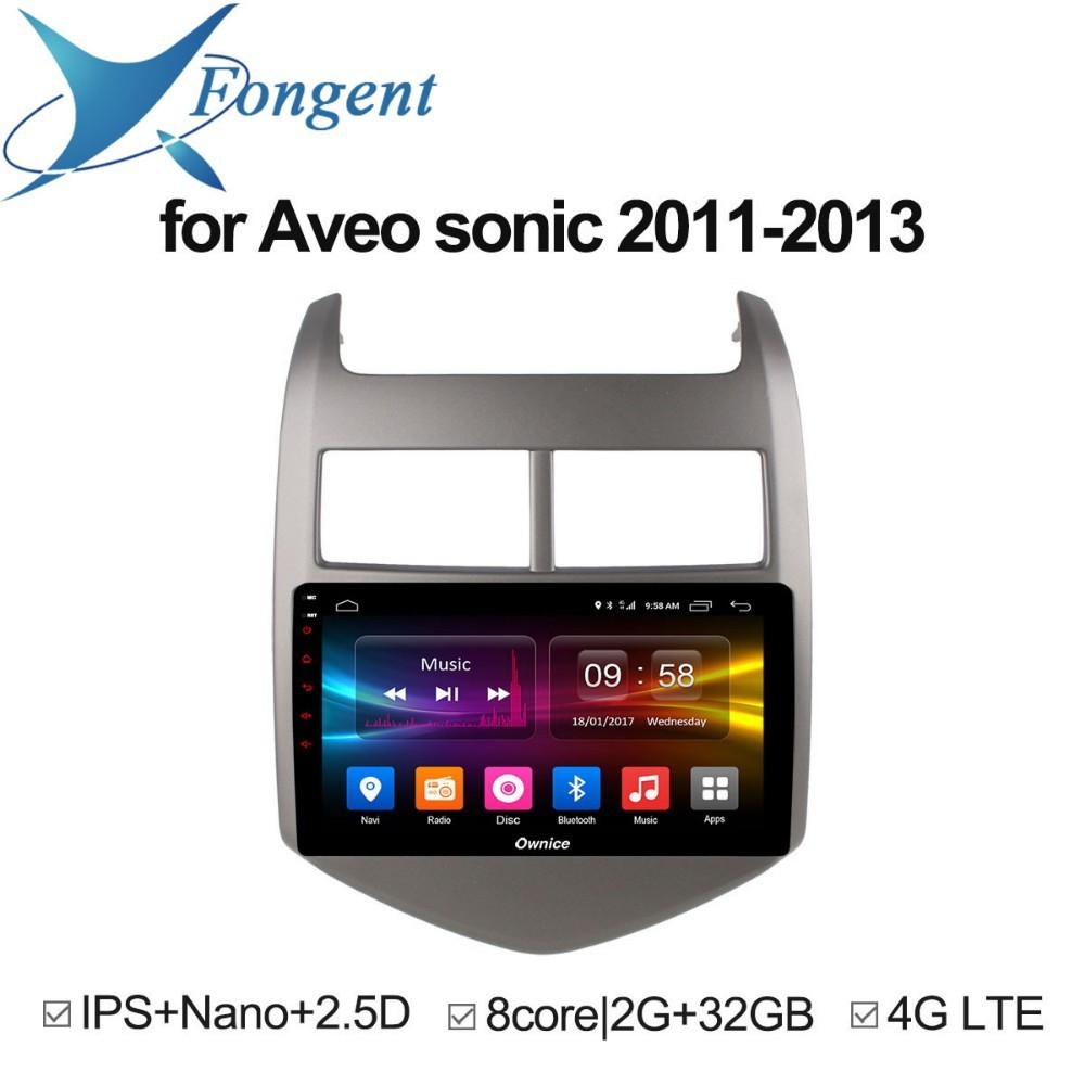 FOR CHEVROLET AVEO SONIC 2011 2012 2013 Car Smart pad Android Unit DVD Radio Mul