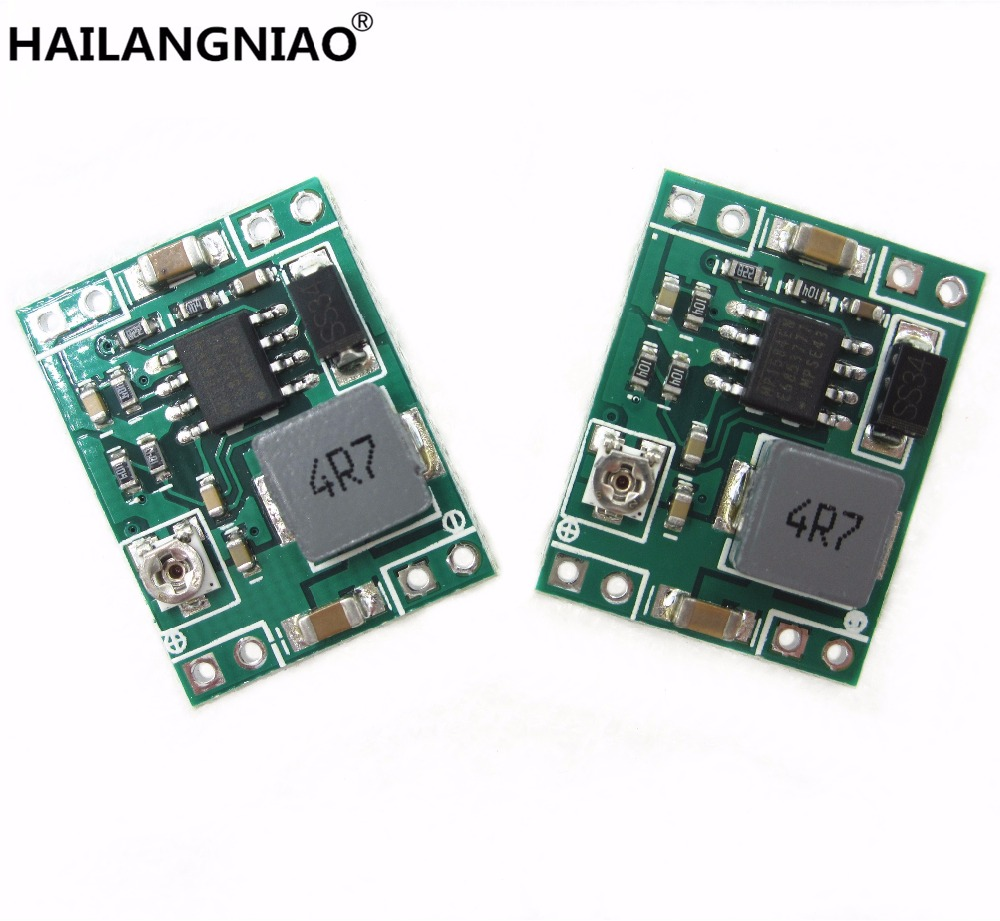 new 100PCS GW1584 Ultra small size DC DC step down power supply module 3A adjustable step