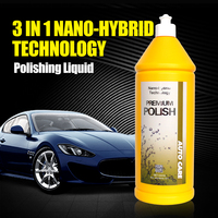 500ml Car Polish Liquid Glass 3 In 1 Ceramic Final Car Polish Drill Wax Micro Scratches