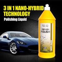 500ml Car Polish Liquid Glass 3 In 1 Ceramic Final Car Polish Drill Wax Micro Scratches