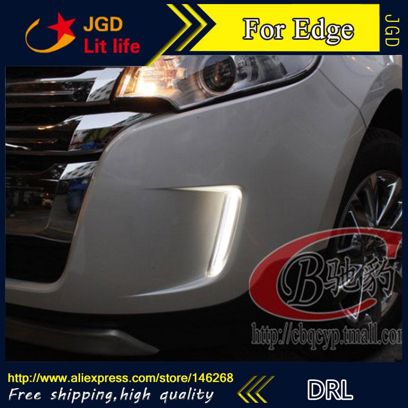 Бесплатная доставка ! 12В 6000K СИД DRL дневного света для Форд Эдж противотуманная фара