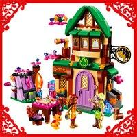 BELA 10502 Elves The Starlight Inn Building Block Compatible Legoe 348Pcs DIY Educational Toys For Children