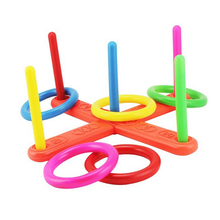 Children Outdoor Fun & toy sports Jumping Ring joy ferrule throwing game parent-child interaction Toys
