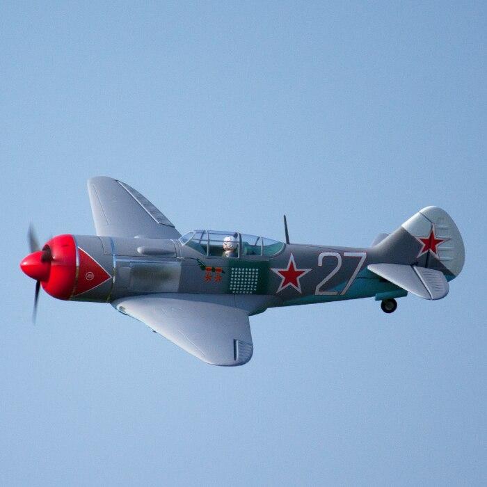Freewing Flight Line LA 7 LA7 Electric RC Propeller Airplane Model PNP