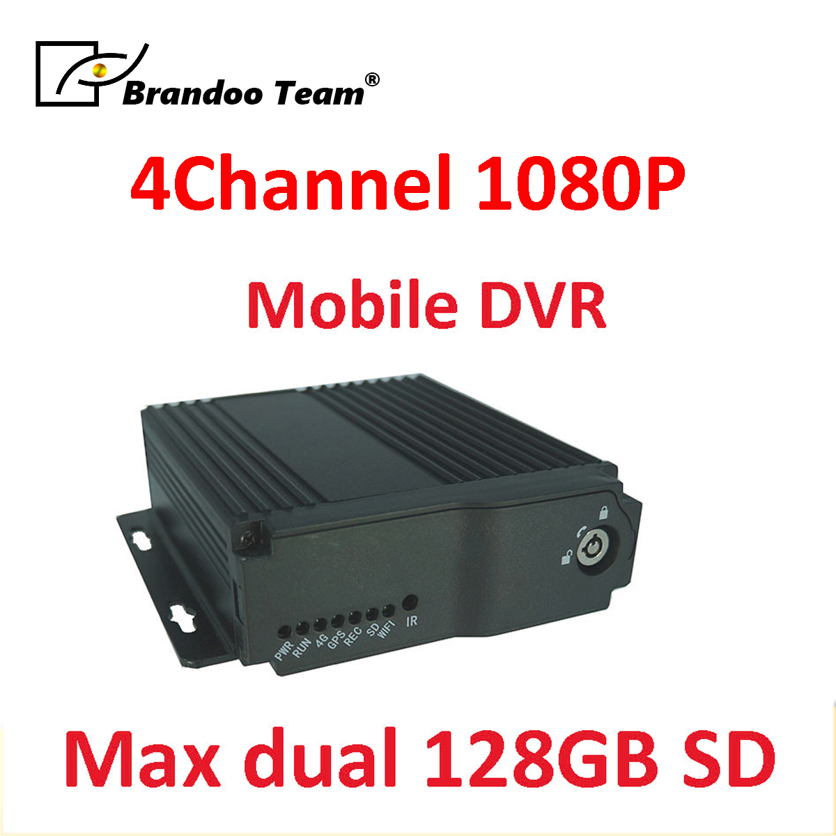 1080P AHD <font><b>SD</b></font> HD Car DVR 4CH Realtime Video Recorder for Bus Truck Mobile 4CH Car DVR <font><b>SD</b></font> MDVR Dash Camera 128 <font><b>gb</b></font> image