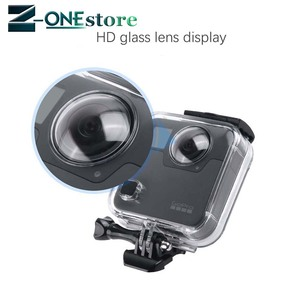 Image 5 - New 45M Underwater Waterproof Case for GoPro Fusion Camera Diving Housing Mount for GoPro Fusion Accessories
