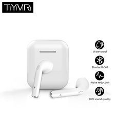 hot deal buy f10s tws bluetooth earphone wireless headphones sports bass earbuds with charging box earphones headphones for android ios phone