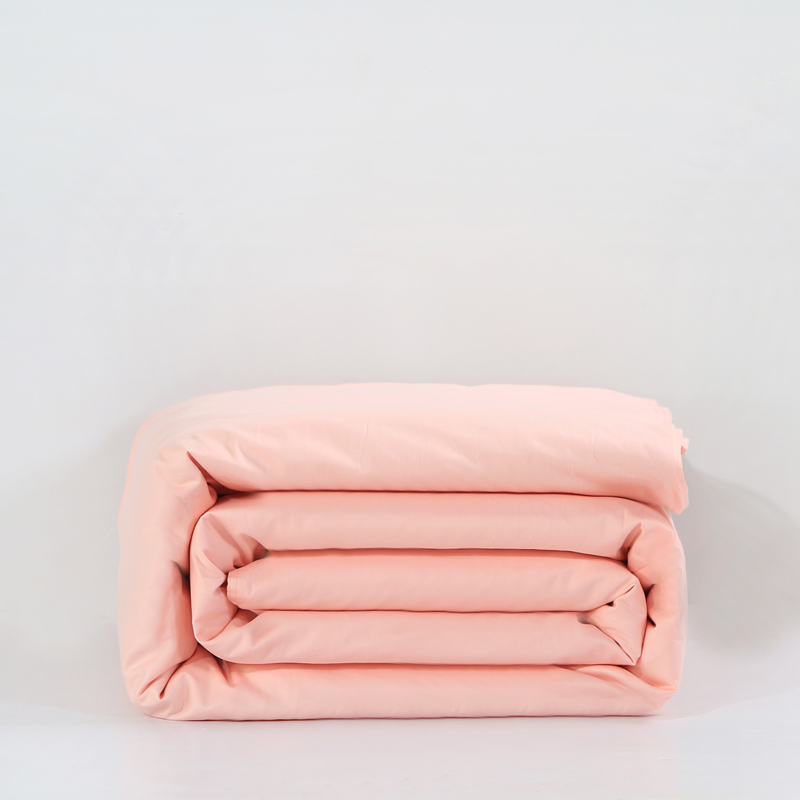 Solid Pink Bedding Full