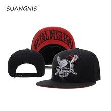 Новинка, модная металлическая регулируемая бейсболка Mulisha, хип-хоп бейсболка для мужчин и женщин, кепки с черепом