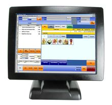 Wholesale 15″ POS All In One Touch System Seamless Led Terminal POS2120 With VFD Customer Display