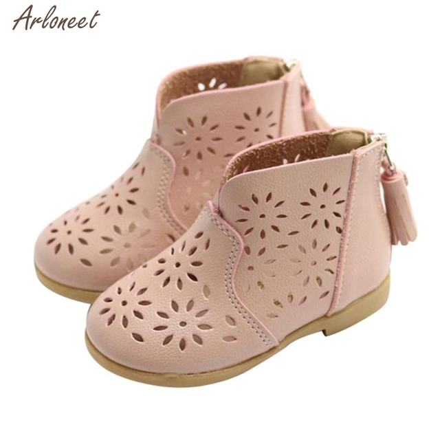 4d829935b5eb 2018 toddler girls summer shoes PU Flower shoes baby girl Sandals Fashion  Big Flower Girls Flat