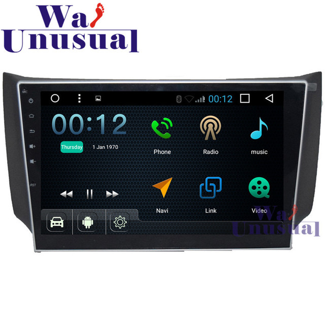 """10.1""""Quad Core 16G Android 6.0 Auto GPS Navigation For Nissan Sentra Radio Stereo with GPS Wifi BT DVR Mirror link 1024*600 Maps"""