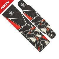 122mm Dancing Longboard Griptapes Long Board Grip Tape Skateboard Griptapes Anti Slid Sandpaper Colorful Graphic Deck