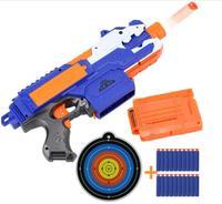 Çocuklar Için 2018 Elektrik Yumuşak Kurşun Oyuncak Tabanca Nerf Silah Mermi için Dart Nerf Dart Takım için Takım GunsSniper Tüfek