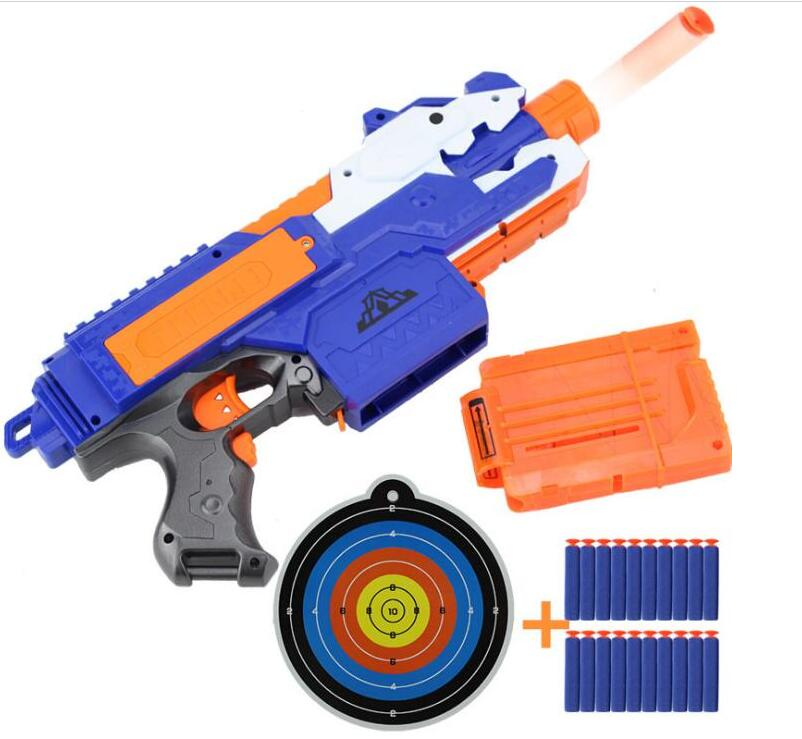 2018 Electric Soft Bullet Toy Gun For Children Dart Suit for Nerf Darts Suit for Nerf