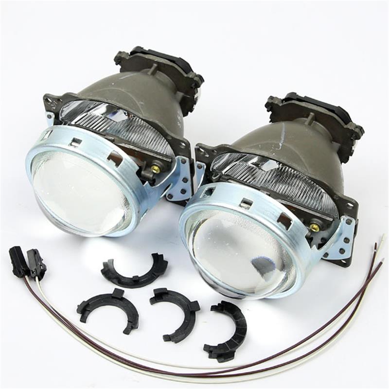 ФОТО 3.0 Full Metal Q5 Bi xenon Lens Projector Headlight lenses D1S D2S D3S D4S LHD Hi/Low For Headlamp Retrofit Kit European