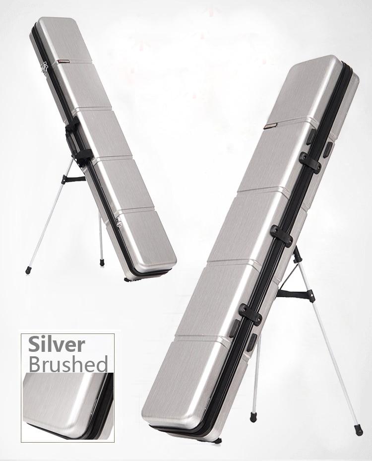 125cm with holder Anti drop anti shock pc material Lure fishing rod taiwan fishing rod bag