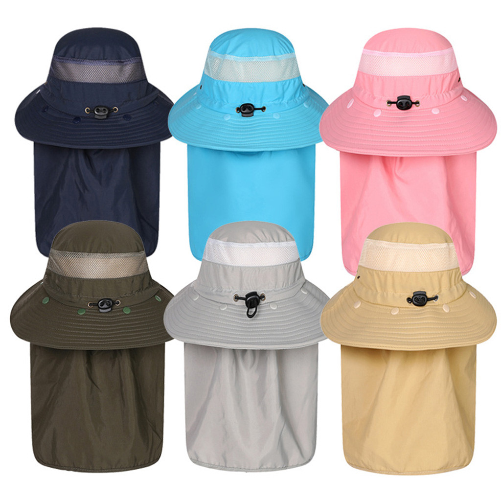 Suncreen Insect Protection Summer Ltweight Sun Neck and Face Protection 3-Pack