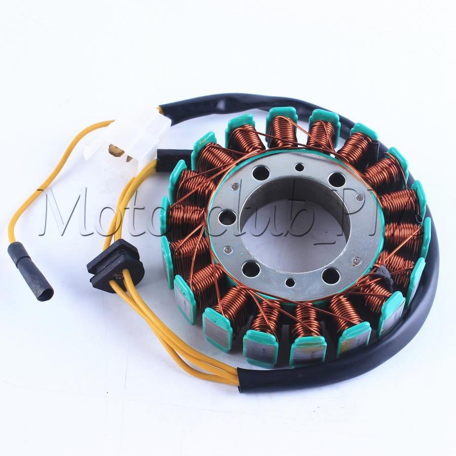 Motorcycle Magneto Engine Stator Generator Charging Coil For Kawasaki Z1000 Lighting System Circuit 2008 2009 2010