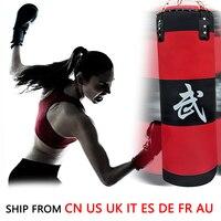 (Nave De 8 Países) 70 cm Deportes Entrenamiento Físico MMA Bolsa Gancho Kick Boxing Saco de Arena de Boxeo Saco De Arena VACÍO Bolsa De Lucha