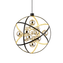 JAXLONG Nordic LED Glass Ball Pendant Lamp Living Room Bedroom Simple Home Decor Lighting Light Fixture Novelty Shop Hanglamp