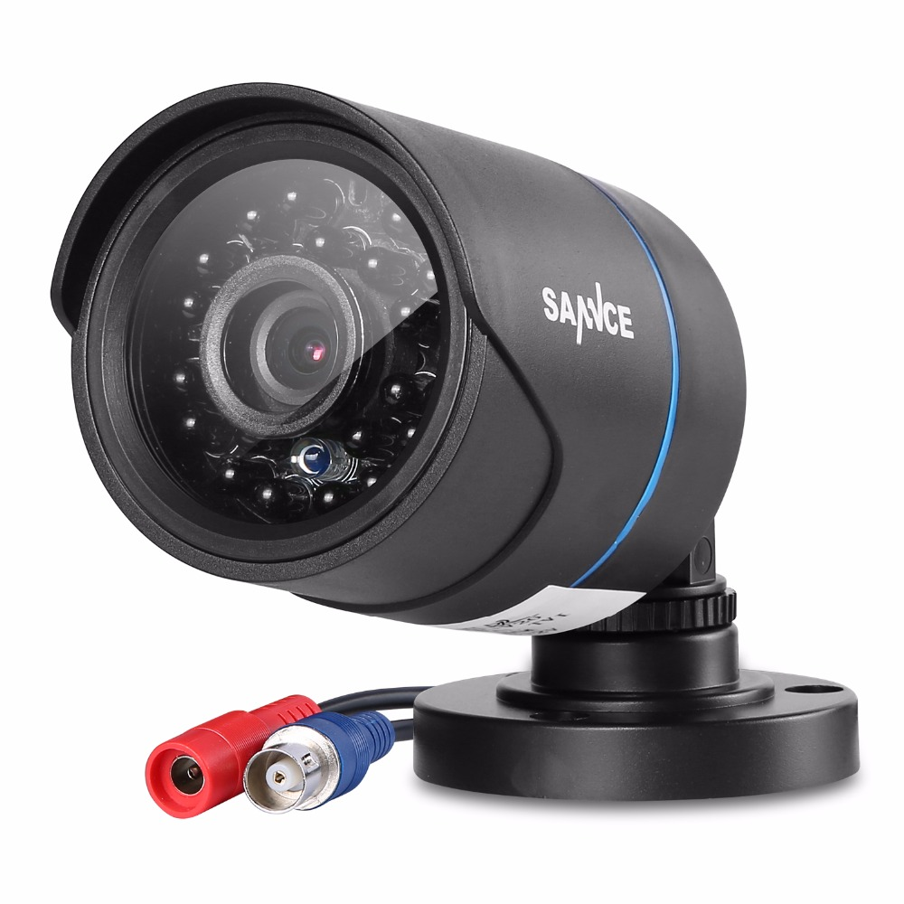 SANNCE 1200TVL Bullet CCTV Camera 1280 720P 1 0MP Waterproof IR Cut Night Vision Camera For