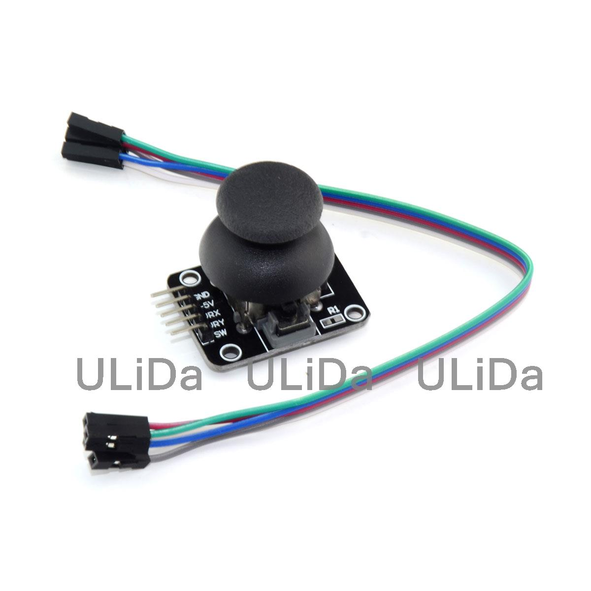 Dual-axis Xy Joystick Module Ps2 Joystick Control Lever Sensor For Arduino Diy Kit Hot Sale 50-70% OFF