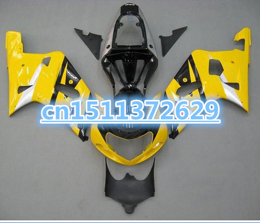 Bo Yellow Black <font><b>Fairing</b></font> for A 2001 2003 GSXR600 750 01 02 03 GSXR600 GSXR750 K1 01 02 03 <font><b>GSXR</b></font> <font><b>600</b></font> 750 <font><b>Fairings</b></font> <font><b>kit</b></font> image