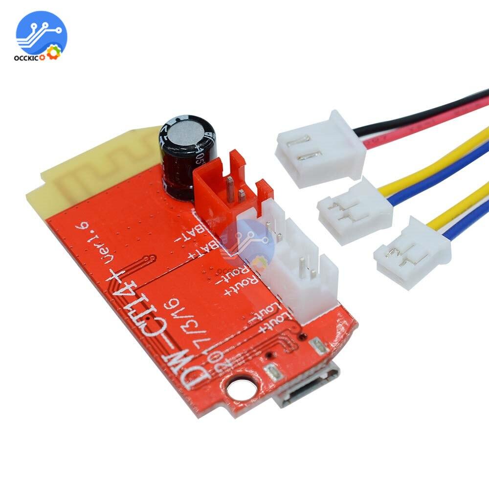 3.7-5V 3W Amplifier Board Dual Plate DIY Bluetooth Amplifier Speaker Module Audio Spectrum Analyzer Modulo Amplificador