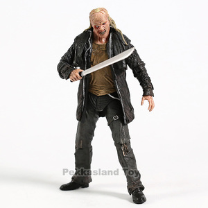 Image 4 - 2009 Deluxe Edition NECA Şekil Cuma 13th Jason Voorhees Action Figure PVC Korku Koleksiyon Model Oyuncak