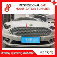 High quality Stainless steel modification car front grille racing grills grill cover for Mondeo 2017