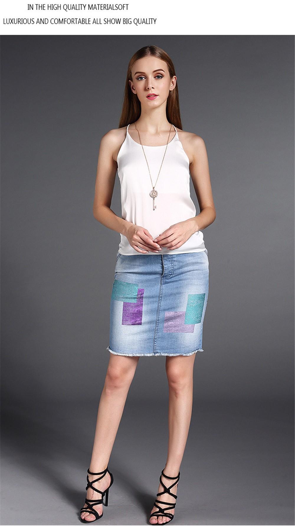 Plus Size S-4XL Multiple Women Tank Tops Brand Silk Blending Sleeveless Tshirt Women Female Shirt Smooth Blouse Blusas Femininas (10)