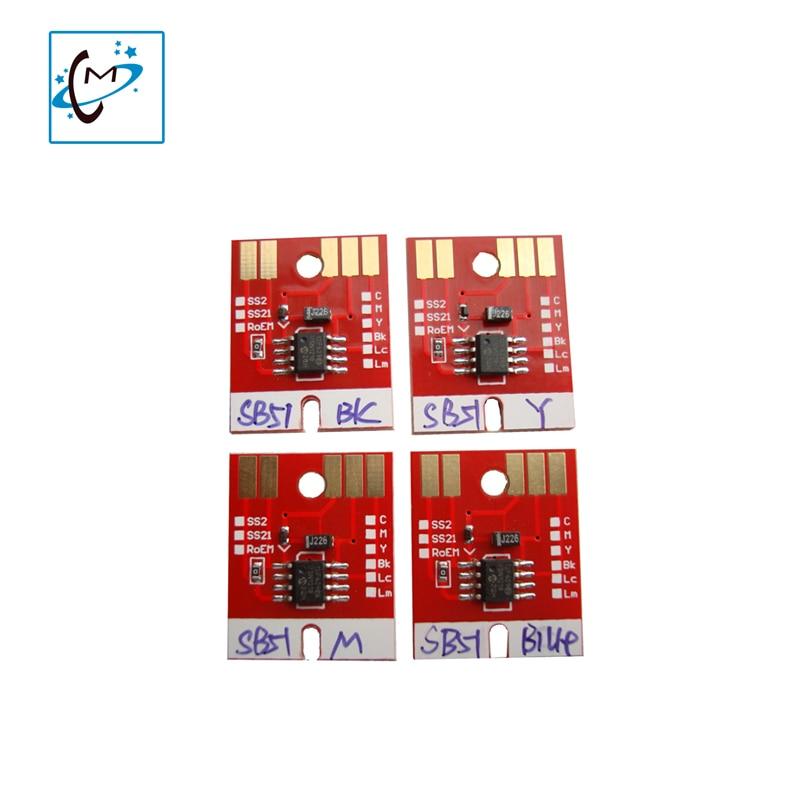 4PCS Large format printer ink cartridge chip For Mimaki JV33 JV5 JV3 printer Permanent Chip SS21