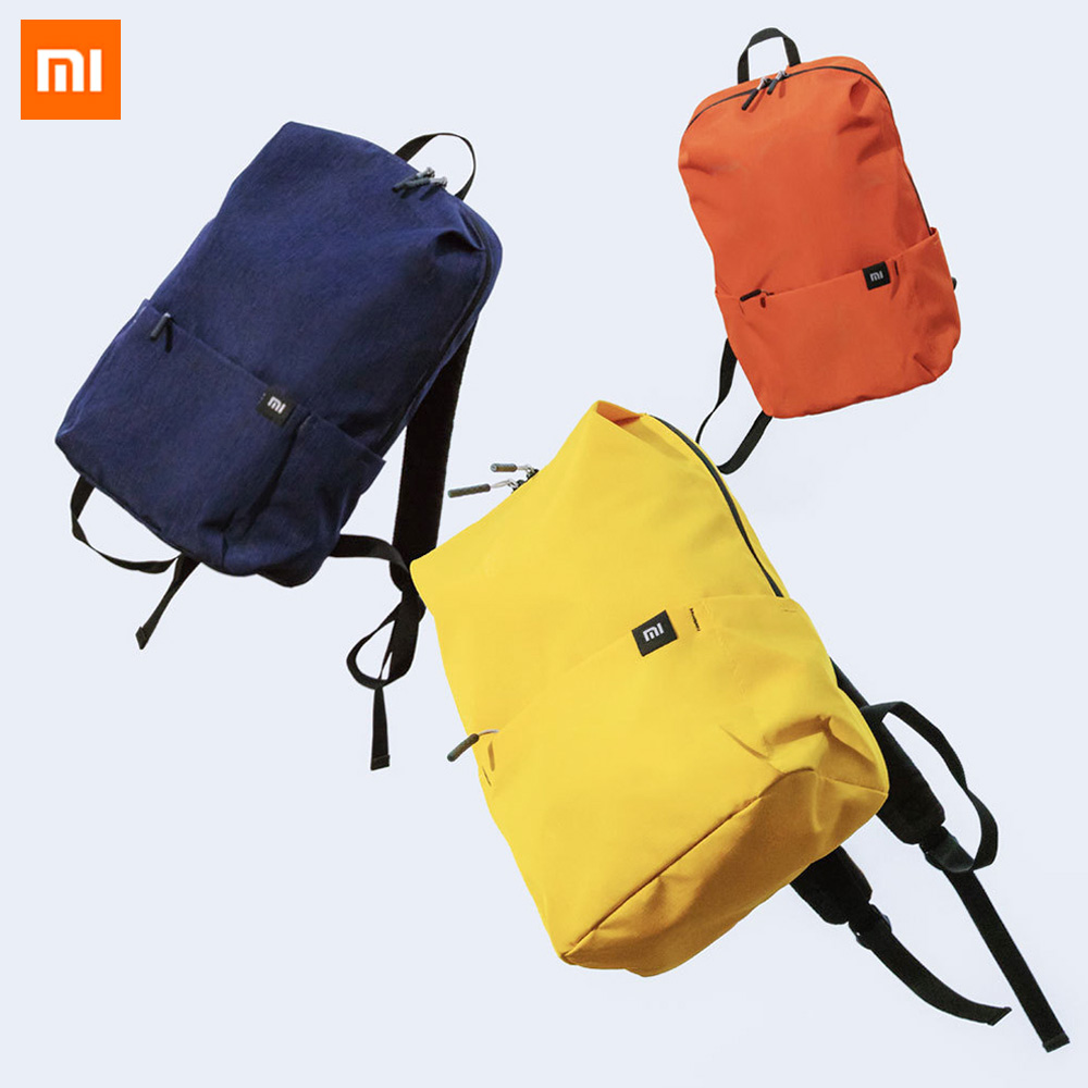 The Best Xiaomi Mini Bag Colorful 8 Colors Level 4 Water Repellent 10l Capacity 165g Weight Ykk Zip Outdoor Sport Fashion Backpack Smart Remote Control