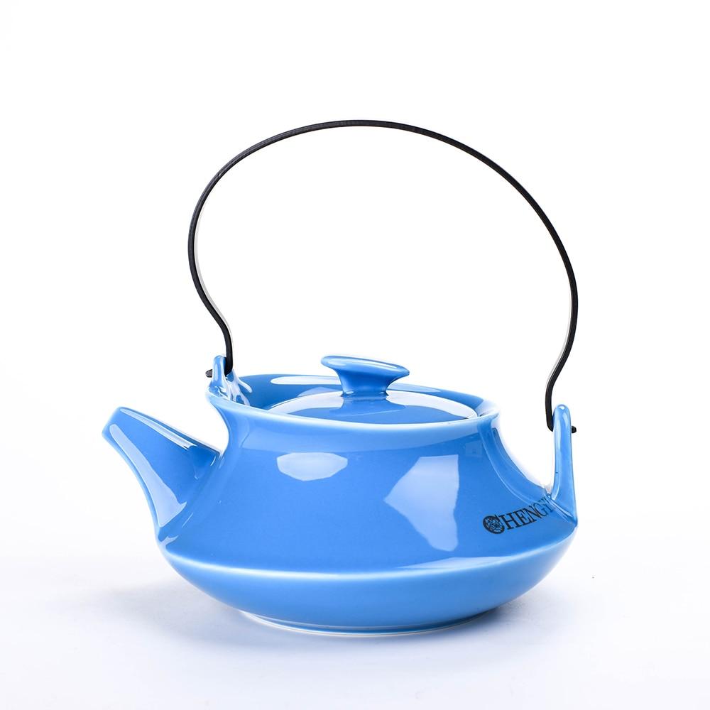 Ceramic chinese tea pot, porcelain pot tea, coffee