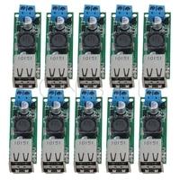 CNBTR Doppel USB DC DC Schritt down Modul Spannung Konverter 6 35 v zu 5V3A Auto Lade Pack von 10-in Werkzeugteile aus Werkzeug bei