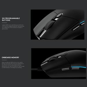 Image 4 - Logitech G102 게임용 마우스 8000 인치 당 점 조정 가능한 RGB 매크로 프로그래밍 가능한 기계식 버튼 windows 10/8/7 용 유선 마우스 게임 마우스