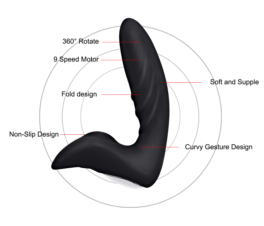 Prostate Massager Anal Plug Vibrator For Men Butt Plug Stimulator Fetish Anal Toy Erotic Sex Products For Gay Adult in Anal Sex Toys from Beauty Health