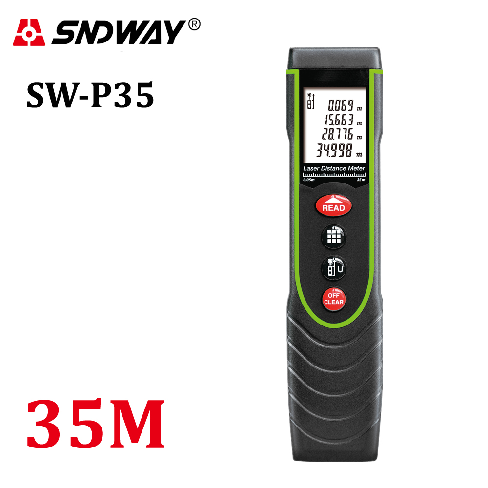 35m Pen style Hand-Held Digital Laser Distance Meter trena laser Range Finder Tape Measure tools device LCD display W-Backlight35m Pen style Hand-Held Digital Laser Distance Meter trena laser Range Finder Tape Measure tools device LCD display W-Backlight