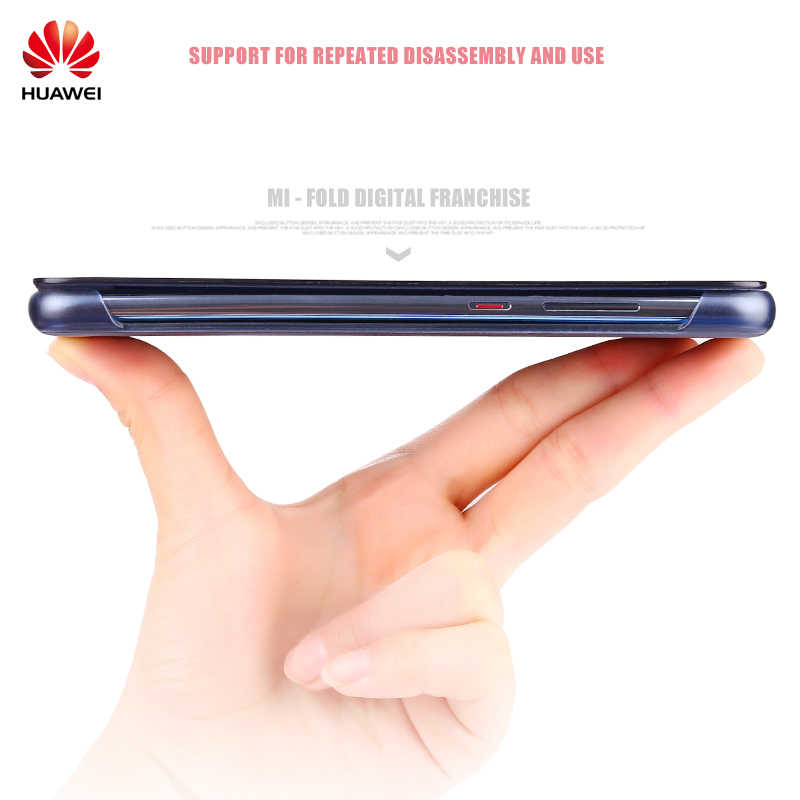 Huawei P20 pro caso claro ver táctil inteligente view flip cover 100% original Huawei oficial P30 Pro de cuero flip teléfono caso funda