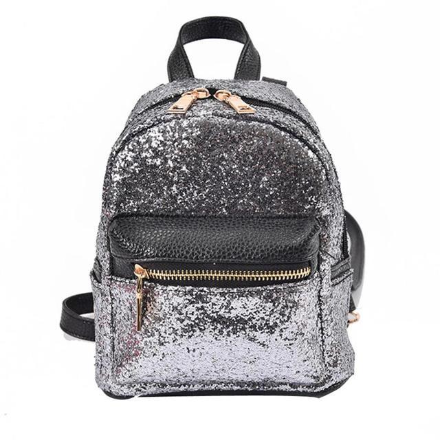 b0c0bdeae6d30 مصمم النساء أزياء نمط الترتر مدرسة حقيبة الظهر السفر حقيبة كمبيوتر المدرسة  لل مراهقين بنات mochila