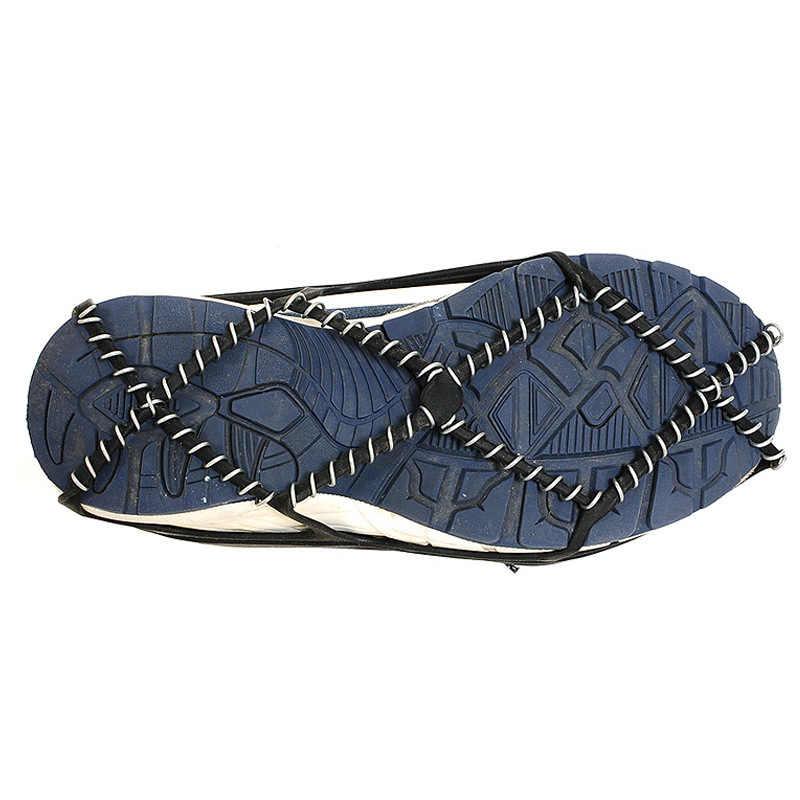 1 paar Eis Schnee Greifer Outdoor Unisex Non-Slip Elastische Schuhe Stiefel Spikes Grips für Walking Wandern auf Schnee und Eis