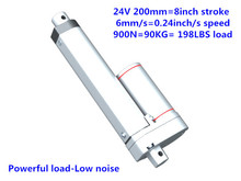 type linear actuator inches