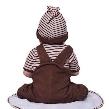 Кукла-младенец KEIUMI 23KUM1507-171-WIG 3