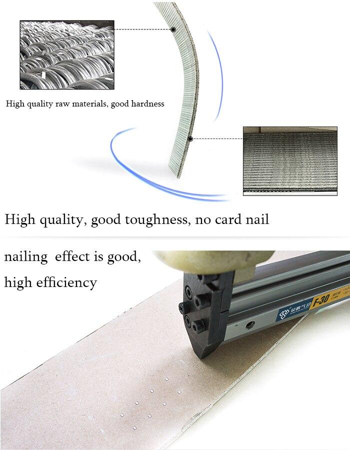 Straight marine raw nail