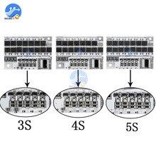 BMS 3S 4s 5s 12V 16.8V 21V 18650 a, carte de Charge de Protection de batterie au Lithium Rechargeable 18650 PCB