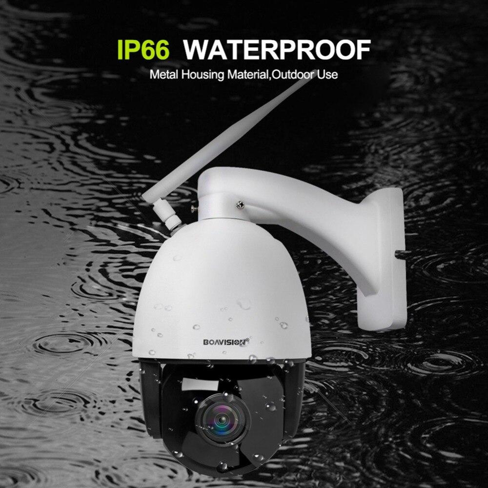 HD 1080 P HD inalámbrico domo PTZ Cámara cámara IP WIFI 5X 10X de Zoom al aire libre de seguridad CCTV cámara de vigilancia de vídeo de Audio IR ONVIF de 60 M - 4