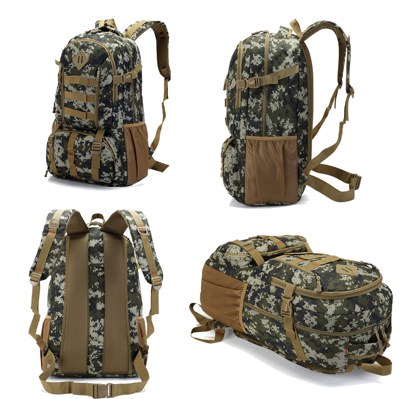 Hot 50l Molle Camo Tactical Backpack Military Army Mochila